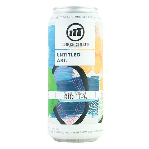 Untitled Art / Three Chiefs West Coast Rice IPA