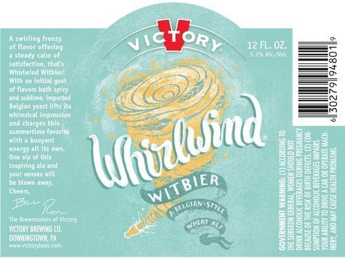 Victory Whirlwind Witbier