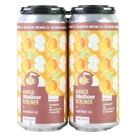 Weldwerks Mango Mallow Berliner Sour Wheat Ale