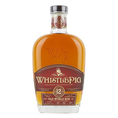 WhistlePig Old World 12 Year Old Straight Rye Whiskey