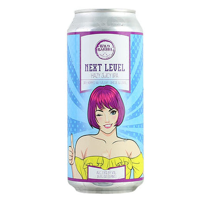 Wild Barrel Next Level Hazy IPA