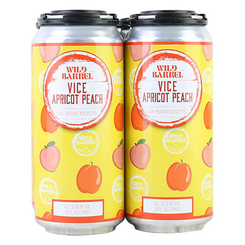 Wild Barrel Vice With Apricots & Peaches