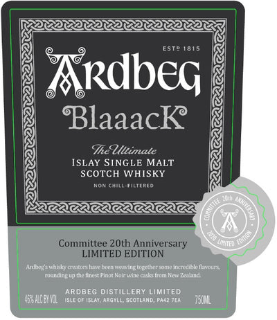Ardbeg Blaaack Scotch Whisky