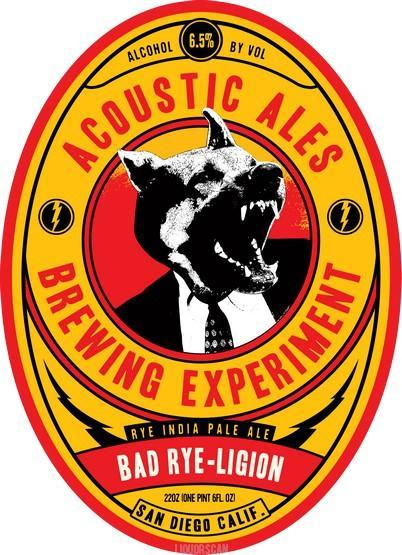 Acoustic Ales Bad Rye-ligion IPA