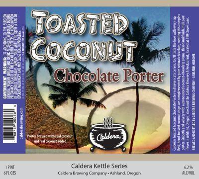 Caldera Toasted Coconut Chocolate Porter