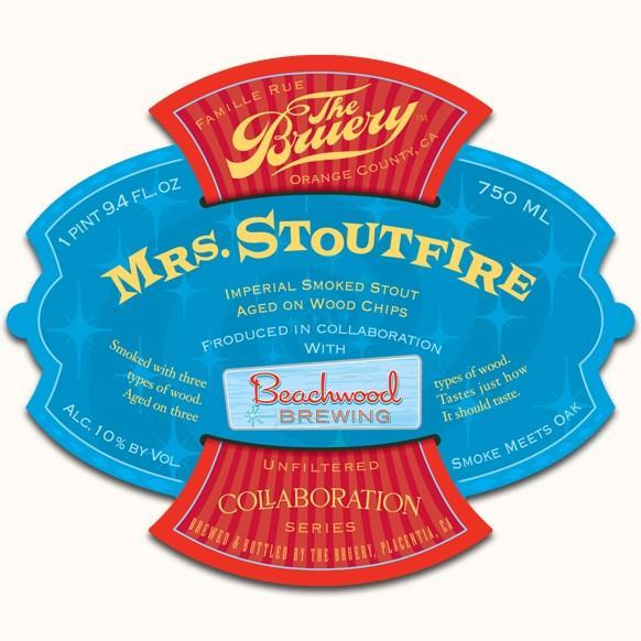 The Bruery / Beachwood Mrs. Stoutfire Imperial Smoked Stout