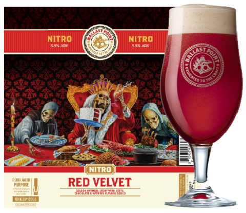 Ballast Point Red Velvet Stout Nitro