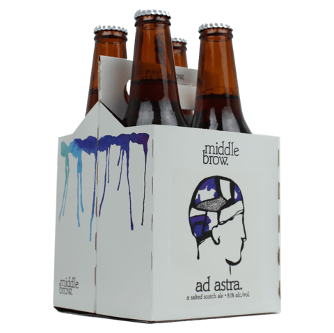 Middle Brow Beer Ad Astra | Buy craft beer online from CraftShack ...