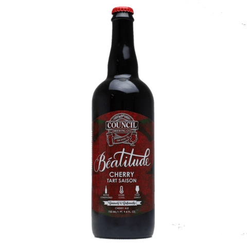 Council Beatitude Cherry Tart Saison