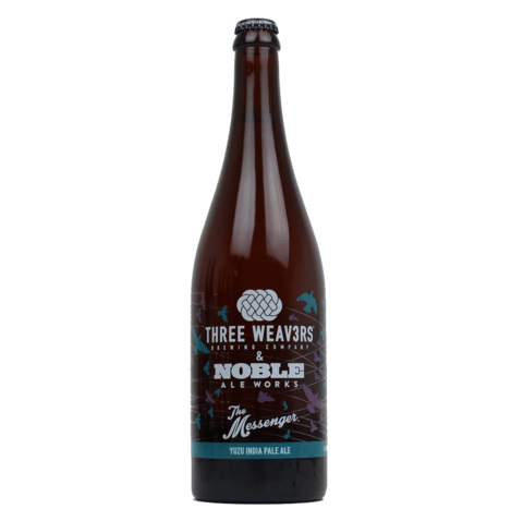 Three Weavers Noble Ale Works The Messenger Yuzu IPA