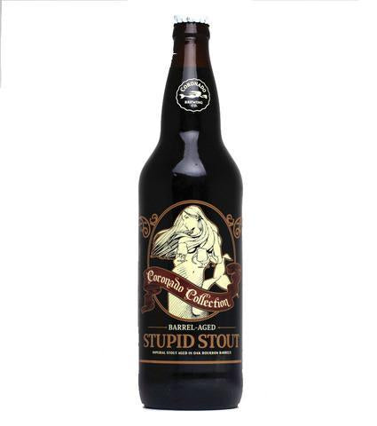 Coronado Bourbon Barrel-Aged Stupid Stout