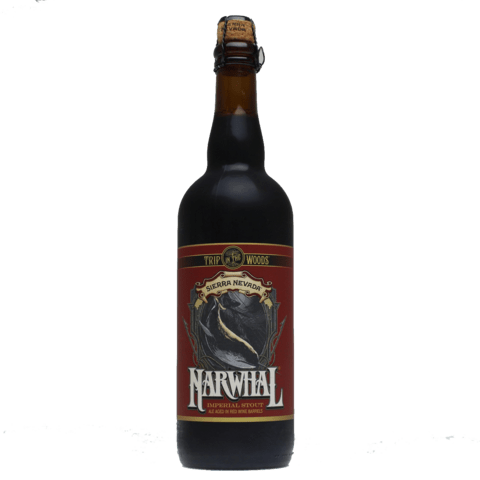 Sierra Nevada Trip in the Woods Narwhal Imperial Stout Aged in Red Wine Barrels