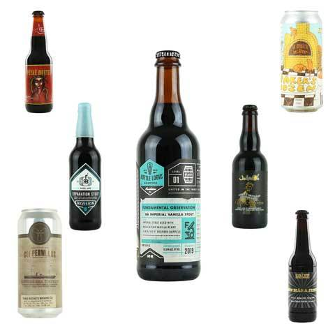 Imperial Stout / Porter Bundle Featuring Bottle Logic Fundamental Observation 2019 vol2 (Shipping Incl.)
