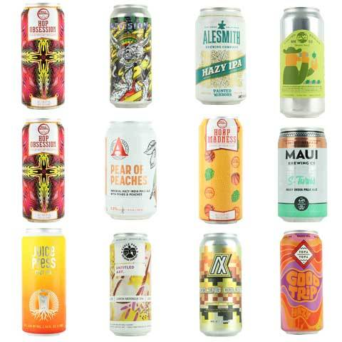 Hazy IPA Variety 12 Pack Vol 19 (SHIPPING INCL)