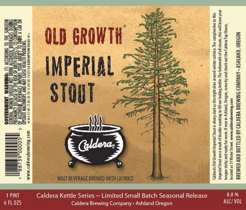 Caldera Old Growth Imperial Stout