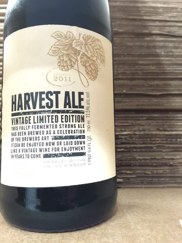J.W. Lees Harvest Ale 2011 25th Anniversary Edition