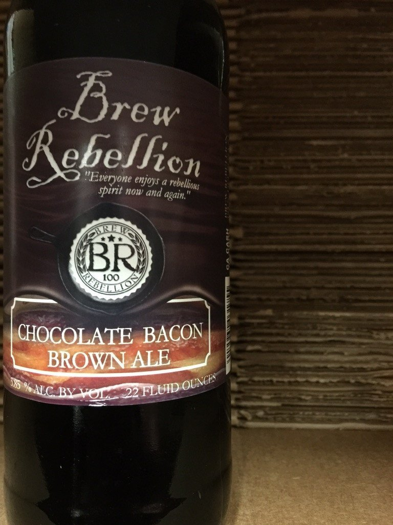 Brew Rebellion Chocolate Bacon Brown Ale