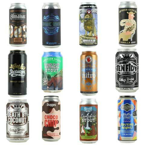 Porter/ Stout Variety 12 Pack Vol 3 (SHIPPING INCL)