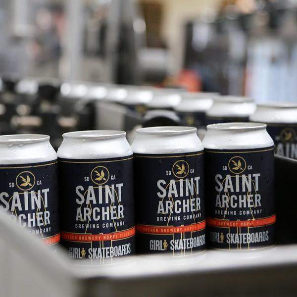 Saint Archer Girl Skateboards Hoppy Pilsner