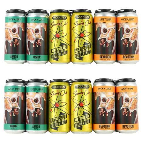 Strung Out / Lucky Luke Brewing Variety 12 Pack - Armor and Devotion / Astrolux