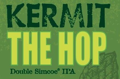 Bison Organic Kermit the Hop Double IPA