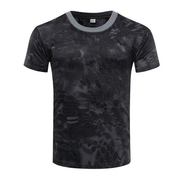 Camouflage Quick Dry T-shirt