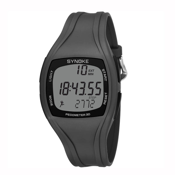 Calorie Pedometer Chronograph Watch