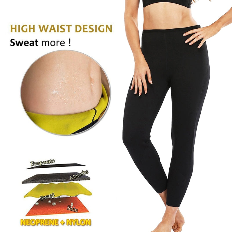 Stretch Neoprene Slimming Pants
