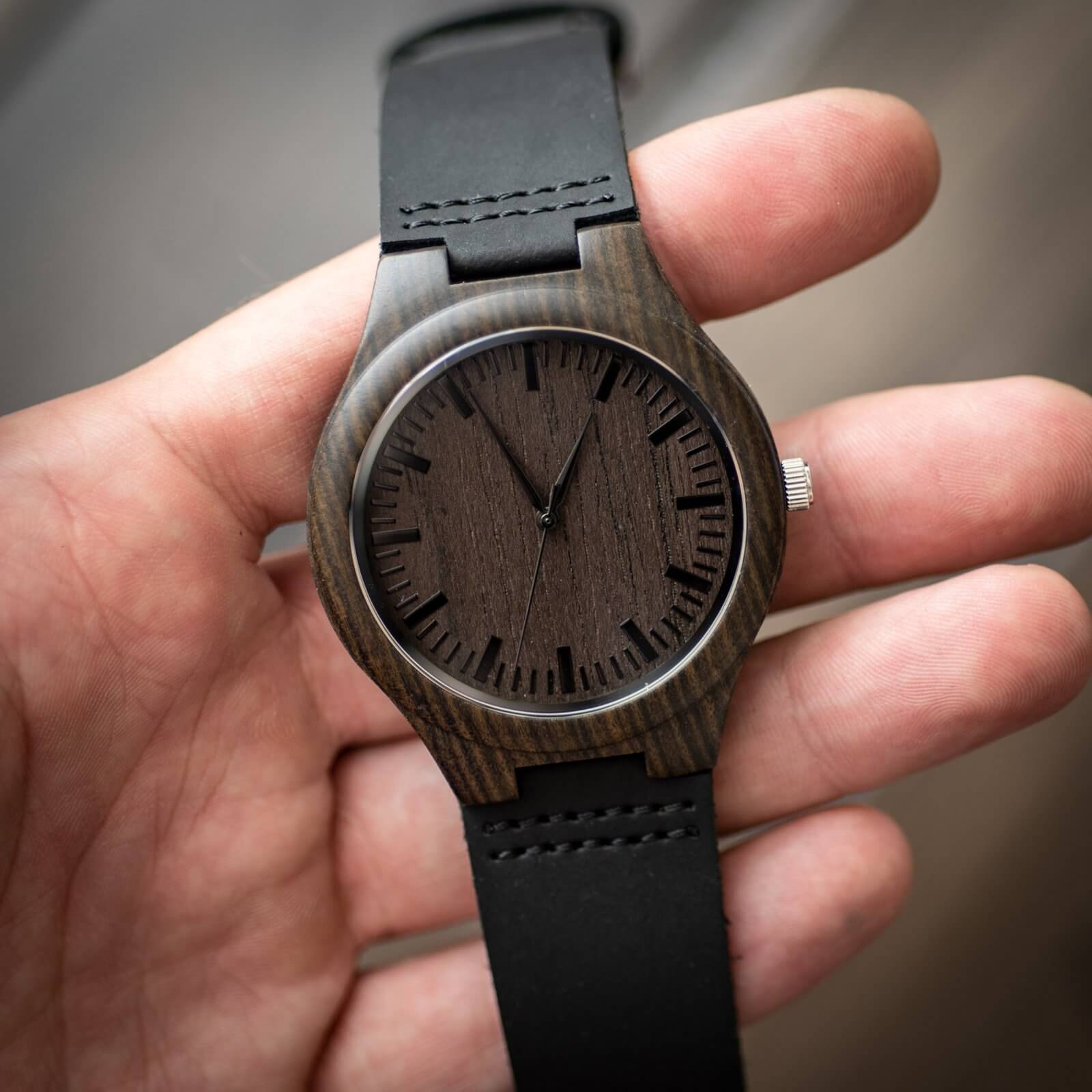 Men's Wooden Watch|Personalize Watch|Gifts for Dad