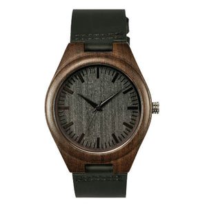 Wooden Watch - Ebony