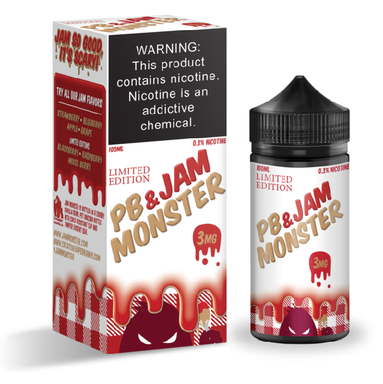 Peanut Butter and Strawberry Jam Monster