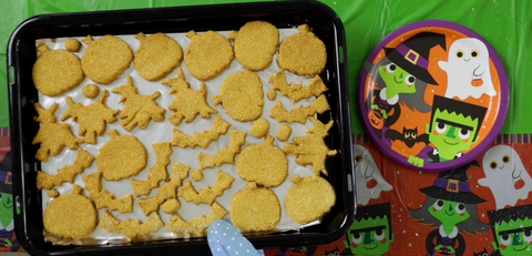 Halloween Pumpking and Oat Dog Treats