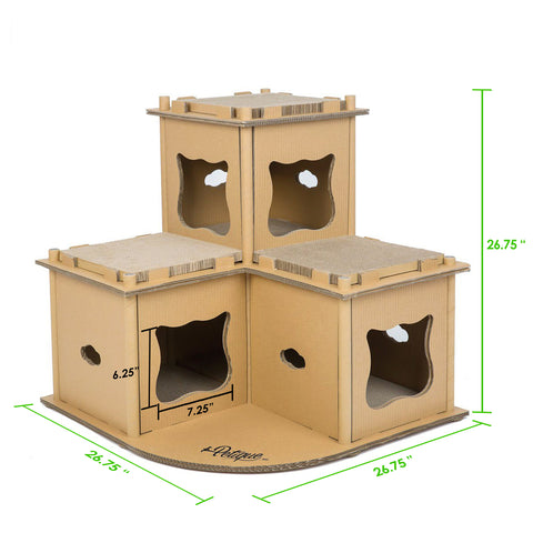 Feline Fortress Cat House Dimensions