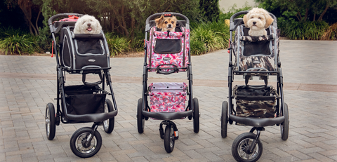 Petique's 5-in-1 Pet Stroller