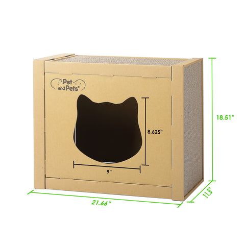 The Box Eco Pet House Dimensions
