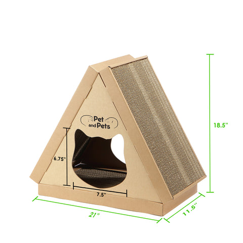 Tippy Peak Eco Pet House Dimensions