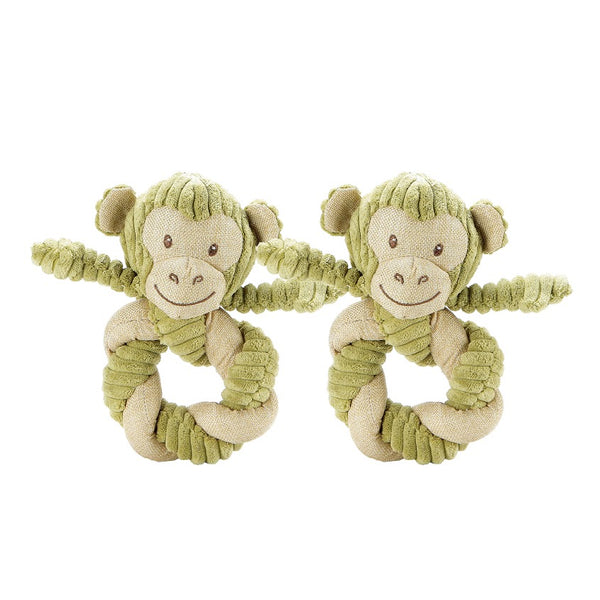 Hemp Monkey Twist Pet Toy