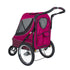 products/petique-all-terrain-pet-jogger-magenta-pink-dog-cat-stroller-back-angle.jpg