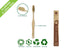 Eco-Friendly Bamboo Pet Toothbrush