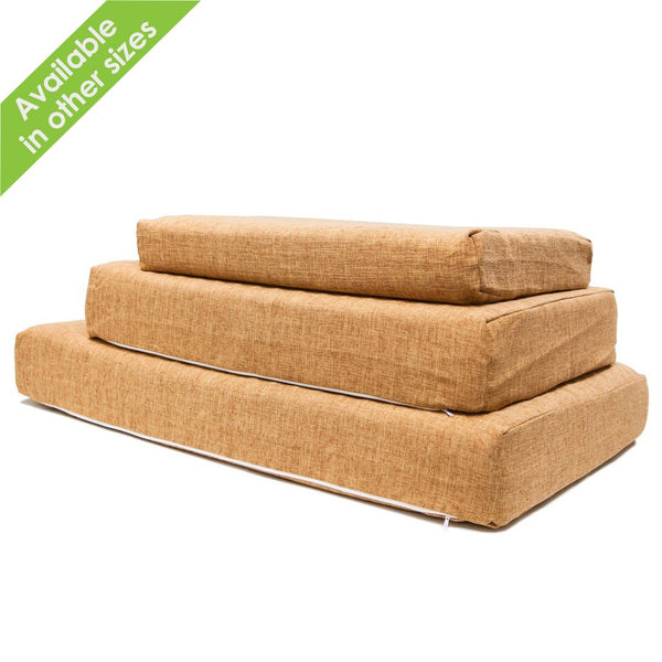 Bamboo Memory Foam Pet Bed WITH HEMP COVER