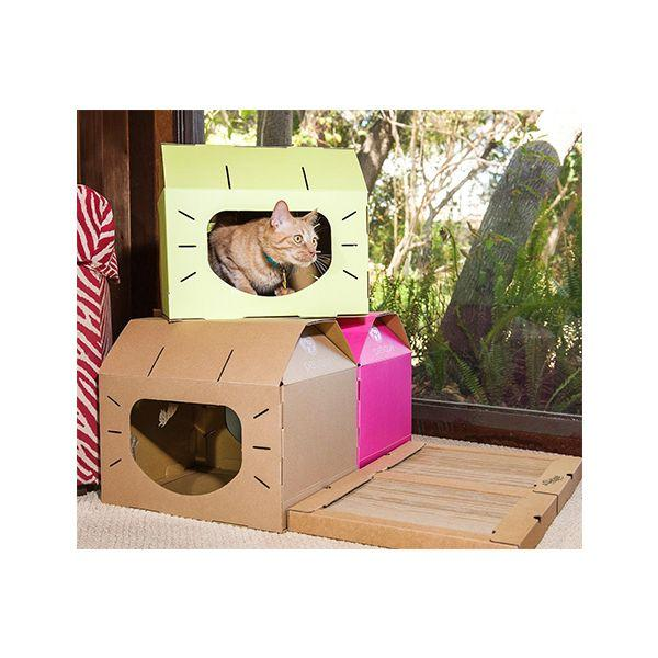 Eco-Friendly Feline Loft Cat House