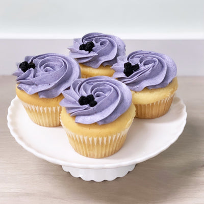 Gluten Free Vanilla and Blueberry