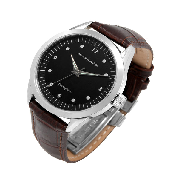 Delancey Street watch by Hudson River Watch Co