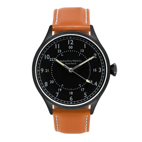 Front Street (Black PVD) watch by Hudson River Watch Co