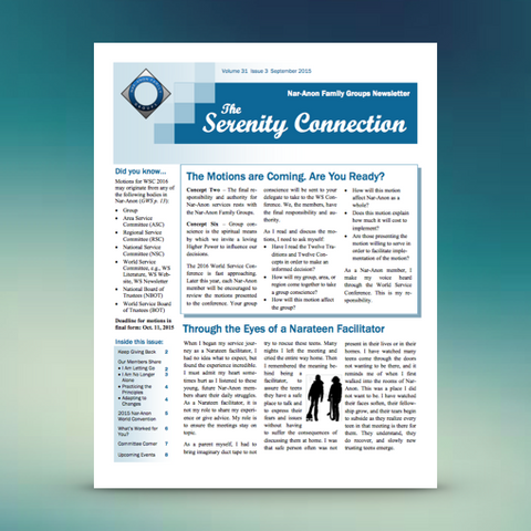Serenity Connection Newsletter Subscription