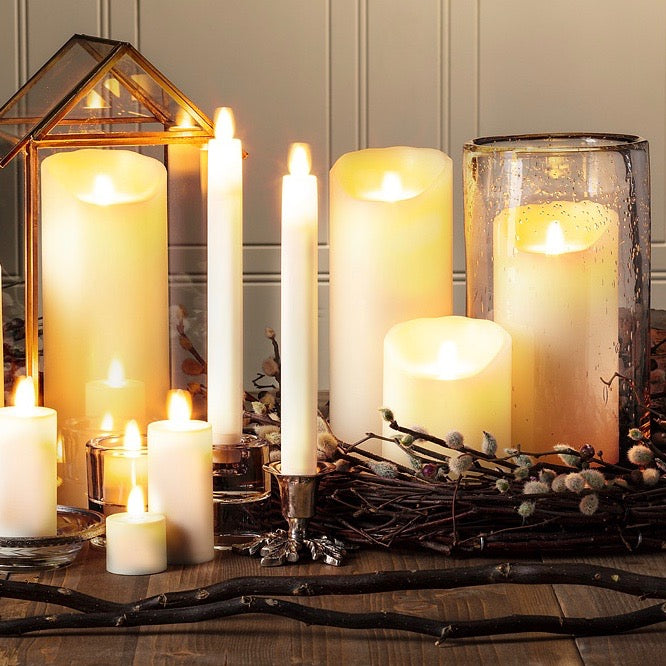 Christmas Flameless Candles