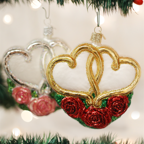 Old World Christmas Hearts
