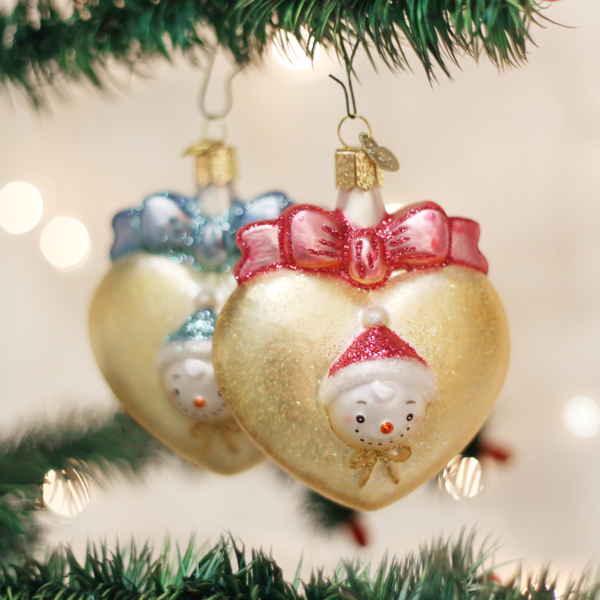 Old World Christmas Baby Ornaments