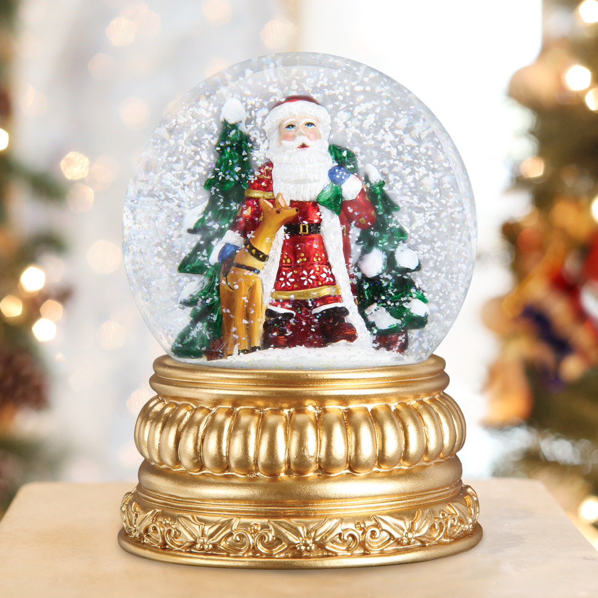 Christmas Snowglobes.Snow Globes Water Globes Putti Christmas Celebrations
