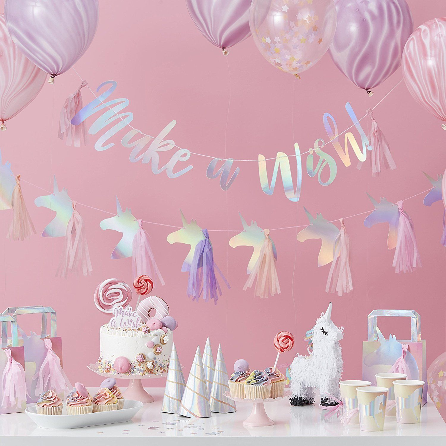 """Make a Wish"" Unicorn Party"